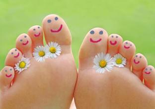 piedi-fiori
