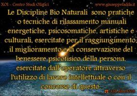Discipline Bio-Naturali